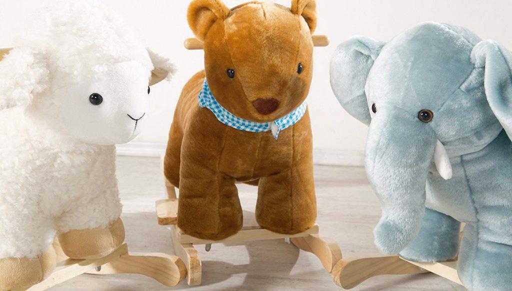 L'animal à bascule est le cadeau parfait pour un enfant de 12 mois et plus.