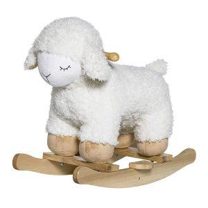 Ce mouton à bbascule est adorable pour décorer la chambre d'un enfant.