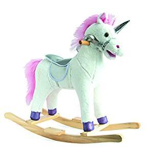 La licorne à bascule Histoire d'Ours est le cadeau idéale pour les petites filles âgées d'au moins 3 ans.