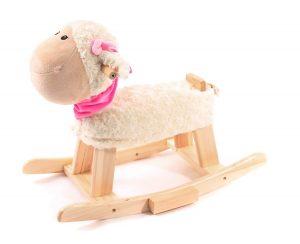 Ce mouton à bascule s'appelle Lilli.