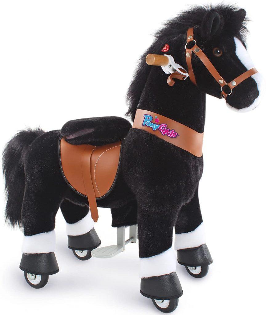 Le cheval ponycycle noir existe en 2 tailles.