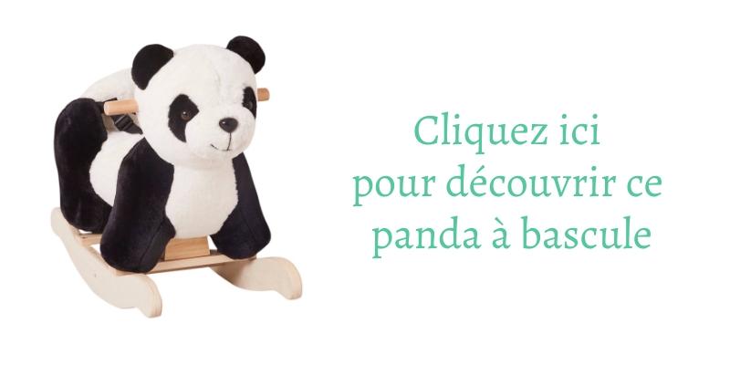 Découvrez vite ce super beau panda à bascule !
