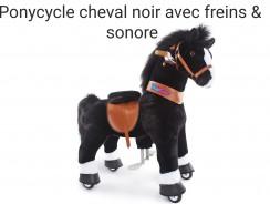 Ponycycle cheval noir